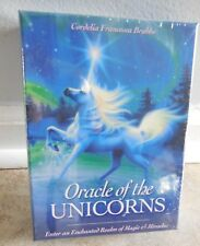 ORACLE OF THE UNICORNS TAROT CARDS  by Cordelia Francesca Brabbs CAT RESCUE