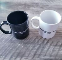 Lot 2 Official Harley Davidson Motorcycles Coffee Mug Cups LOGO Philadelphia PA
