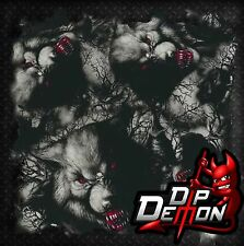 WOLF BIG BAD WOLVES HYDROGRAPHIC WATER TRANSFER FILM HYDRO DIPPING DIP DEMON