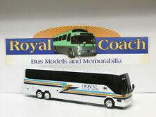 "Royal Coach Tours (Ca) Prevost H Plastic 10"" Bank Bus"