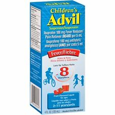 Advil Child Suspension Fruit 4OZ
