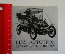 Aufkleber/Sticker: Lips Autotron Automuseum Drunen (130516182)