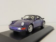 Porsche 911 Turbo 964 1990 1/43 Maxichamps by Minichamps 940069100 Purplemet.