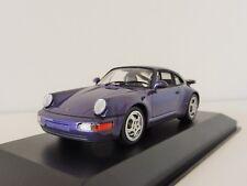 1 43 Minichamps Porsche 911 (964) Turbo 1990 Purple-metallic