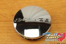 2011-2017 Dodge Logo Chrome Wheel Center Cap Mopar OEM