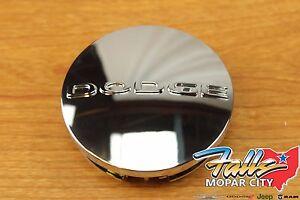 2011-2020 Dodge Logo Chrome Wheel Center Cap Mopar OEM