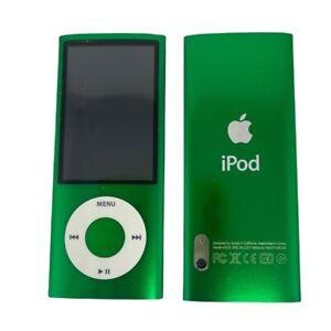Apple iPod Nano 5th Generation 16GB Green Mint Condition , 1 Year Warranty !