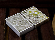 Spirit White Playing Cards Deck by Gamblers Warehouse and Murphy's Magic