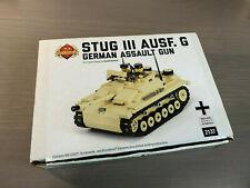 Brickmania Stug III Ausf. G German Tank Assault Gun 100% Complete Superb Retired