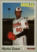 2019 Topps Heritage High Number #721 Mychal Givens Baltimore Orioles
