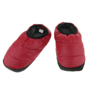 Waterproof Cozy Down Warm Home Slippers Bootie Shoes Outdoor Camping Slipper