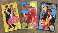 Austin Powers 3 VHS, Goldmember, Spy Who Shagged Me, Intrnational Man of Mystry
