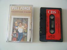 FULL FORCE GUESS WHO'S COMIN' TO THE CRIB? CASSETTE TAPE 1987 PAPER LABEL CBS