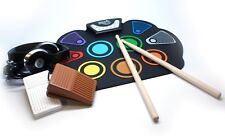 Rock And Roll It SpecDrum-Learn by Color! w/Sticks+Pedals+Headphones+Music Book