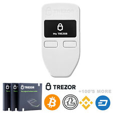 Trezor Hardware Wallet | White | Brand NEW | Factory Sealed Authorized Seller