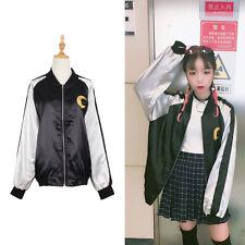 Sailor Moon Embroidered Jacket Coat Cartoon Women Long Sleeve Baseball Loose