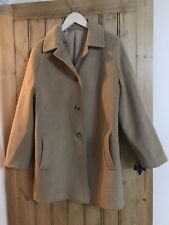 Vintage Czarina - Camel Cashmere And Wool Coat - Size 12 - Great Condition