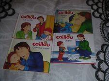 lot de livres enfant bébé Caillou (neufs)