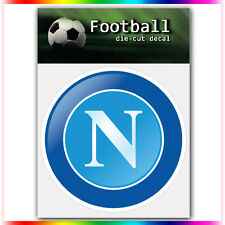 "SSC Napoli UEFA Die Cut Vinyl Sticker Car Bumper Window 4""x3.5"""