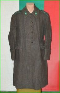 Bulgarian Army Officer Wool Winter Greatcoat Uniform 1970's