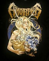 AMORPHIS cd lgo THE GOLDEN ELK GIRL Official SHIRT XL New queen of time