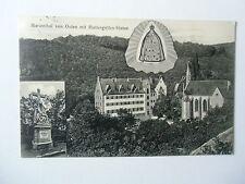 Ansichtskarte Marienthal von Osten mit Muttergottes-Statue 1912
