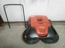 New listing Bissell Commercial Bg497 38 In Cleaning Path 13.2 Gal Cap Walk Behind Sweeper