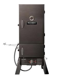 Masterbuilt Pro MB26050412 Steel Black 15400 Btu Propane Dual Fuel Smoker