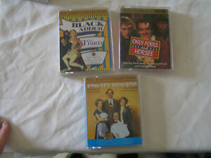 BBC Radio Collection Tapes. Black Adder. Fawlty Towers. Only Fools And Horses.