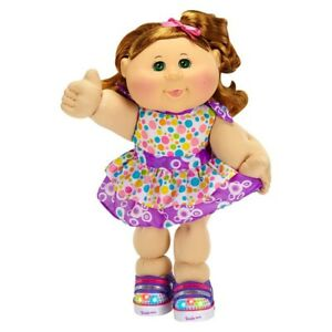 """Cabbage Patch Kids Twinkle Toes 14"""" Kid Red Hair Light Up Shoes"""