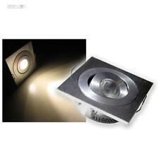 LED-ALU Einbauleuchte 3W CREE 12V DC warmweiß STRAHLER, Einbaustrahler Spot LEDs