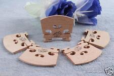 New 20 pcs violin bridge maple 4/4 violin parts High quality Yinfente #555