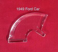 1949 Ford Shoebox Car Hood Ornament Plastic Insert