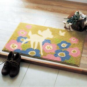 DISNEY Bambi Entrance In Door Mat Room Mini Floor Rug Indoor Gift Japan E7338