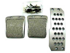 New Aluminium Mugen Style Non Slip Sport Pedals Brake Pad Covers Manual Car 3PCS