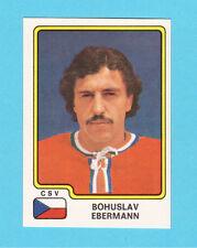 Bohuslav Ebermann Team Czechoslovakia Czech Vintage 1979 Panini Hockey Sticker
