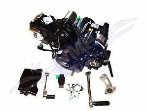 HMParts Pit Bike Monkey Motor SET Lifan 125 ccm 1P54FMI Kick & Anlasser oben