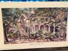 """Charlestons Two Meeting St."" Charleston water color print Birthday gift"