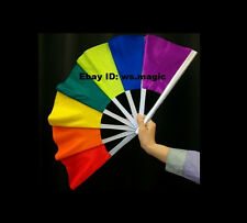 COLORFUL Break Away Fan Magic Trick Close Up Street Kids Party Show Stage Parlor