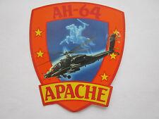 AUTOCOLLANT STICKER AUFKLEBER AH-64 APACHE HELICOPTER HUBSCHRAUBER