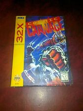 COSMIC CARNAGE x SEGA 32X USA MEGADRIVE MD NTSC 32 X  US VERSION