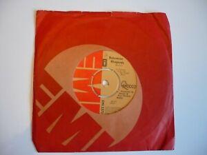 """Queen Bohemian Rhapsody 7"""" Vinyl UK 1975 EMI A2/B1 1st Press Single"""