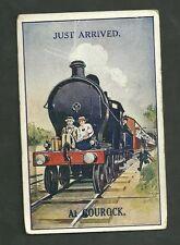 Novelty Postcard Used 1927 Just Arrivedat Gourock