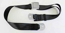 New! Black seat Belt Deluxe Chrome Latch Mustang Falcon Cougar Torino Price Each