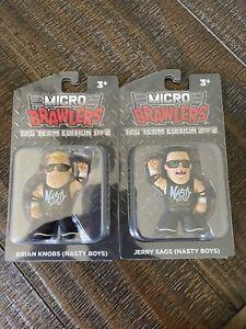Nasty Boys Micro Brawlers LE350 Pro Wrestling Crate