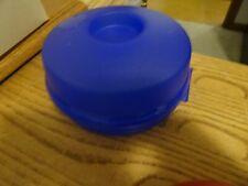 Tupperware • Round Sandwich / Bagel Keeper • Model # 4440A-2 • Blue NEW