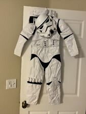 disney store Star Wars- storm trooper kids costume size 5/6