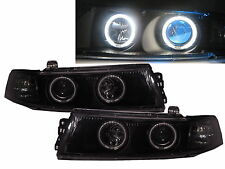 LANCER EVOLUTION EVO 6 98-01 4D CCFL Projector Headlight BK for Mitsubishi RHD