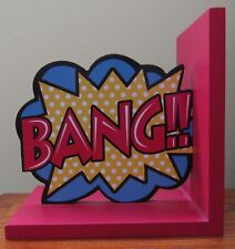 Bang!! Comic Book Bookend
