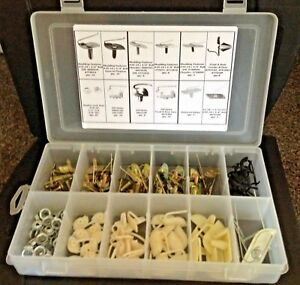 AMC 130x Door Body Side Moulding Fasteners Exterior Trim Clips Kit NOS